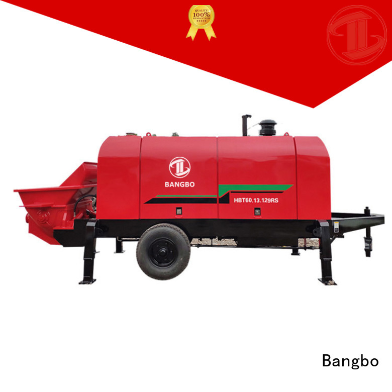 Bangbo Great concrete stationary pump supplier for engineering construction