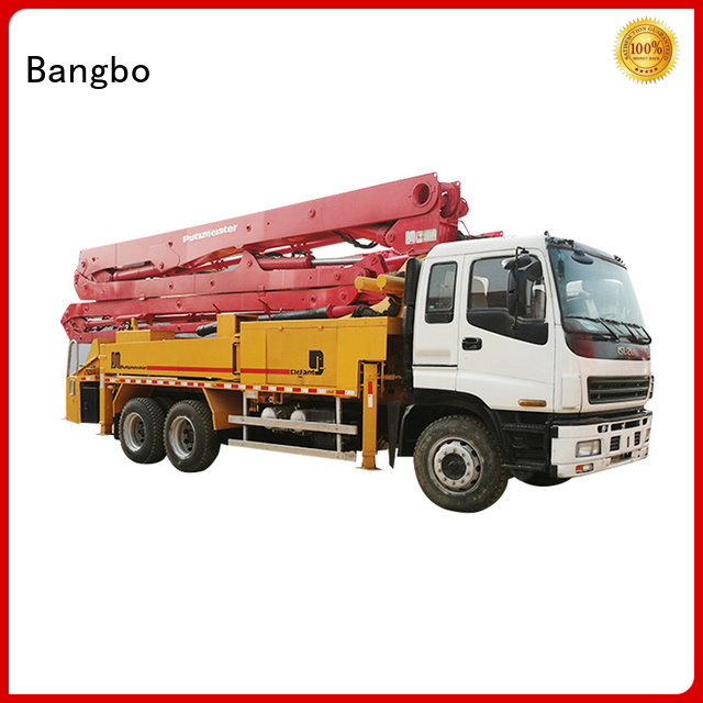 Bangbo used concrete pump truck supplier for engineering construction