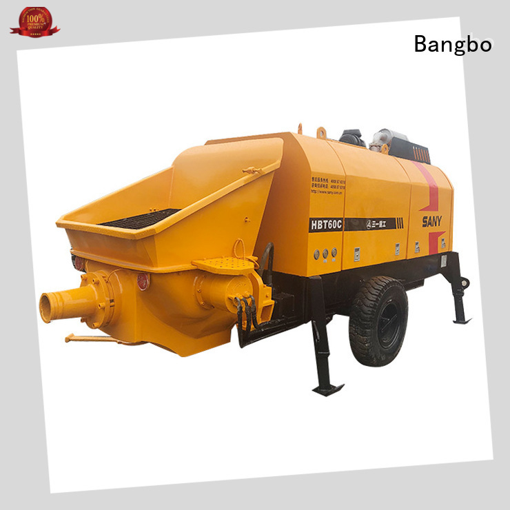 Bangbo Great second hand concrete pump company for construction industry