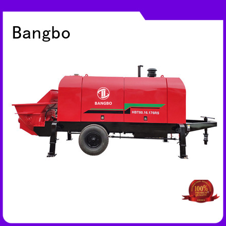 Bangbo concrete pump supplier manufacturer for construction industry