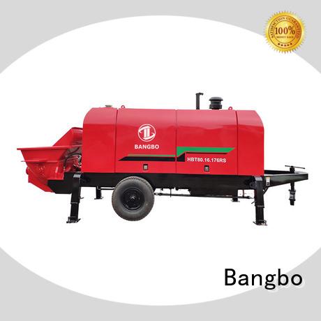 High performance concrete pump manufacturer supplier for construction industry