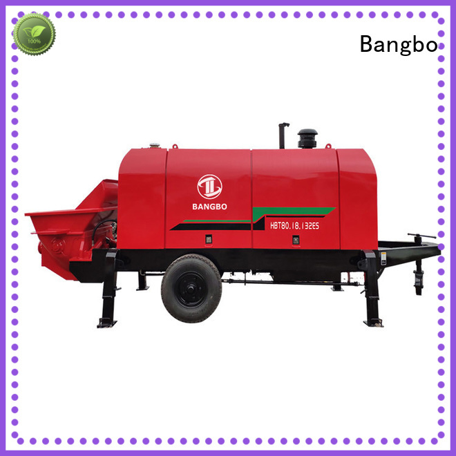Bangbo Great concrete pump supplier manufacturer for engineering construction