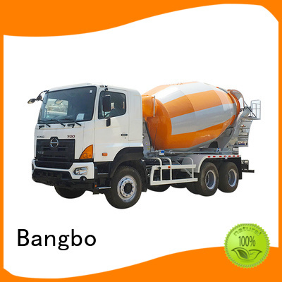 Bangbo used mixer trucks manufacturer for construction industry