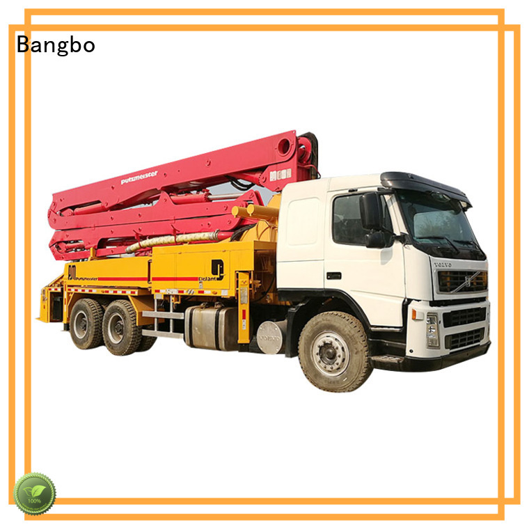 Bangbo Great used pump truck supplier for engineering construction