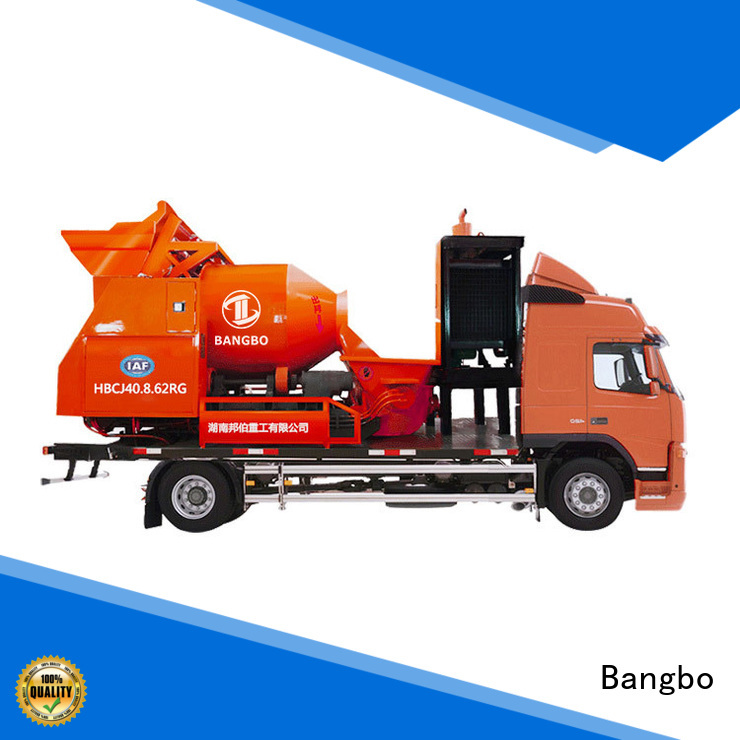 Bangbo concrete mixer truck supplier for tunnel project