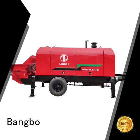 Bangbo stationary concrete mixer factory for engineering construction
