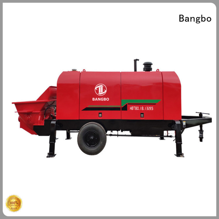 Bangbo concrete pump stationary company for construction industry