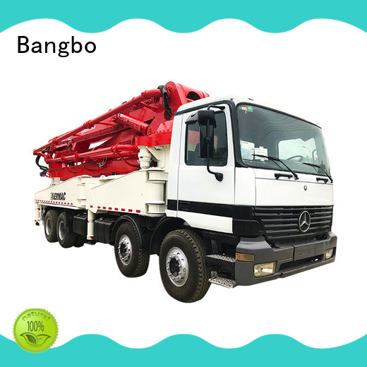 Bangbo cement pump truck manufacturer for engineering construction