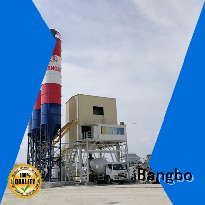 Bangbo batching plant manufacturer for blending concrete ingredients