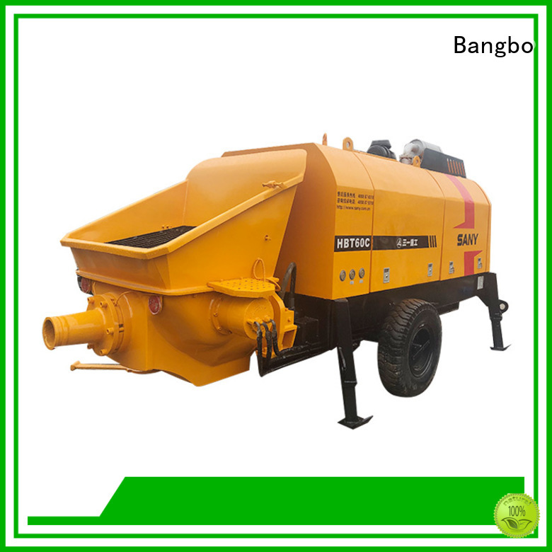 Great second hand concrete pumps supplier for construction industry