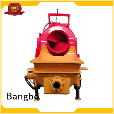 Bangbo Professional cement mixer with pump company for construction projects