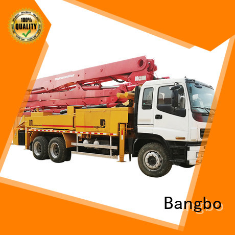 Bangbo Great concrete mixer truck companies supplier for construction industry