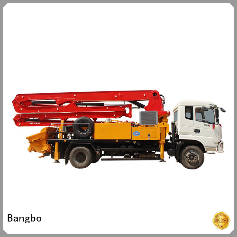 Bangbo Professional buy concrete pump truck factory for engineering construction