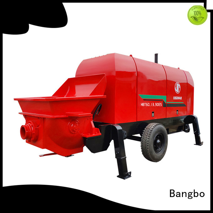 Bangbo High performance fixed concrete pump manufacturer for construction project