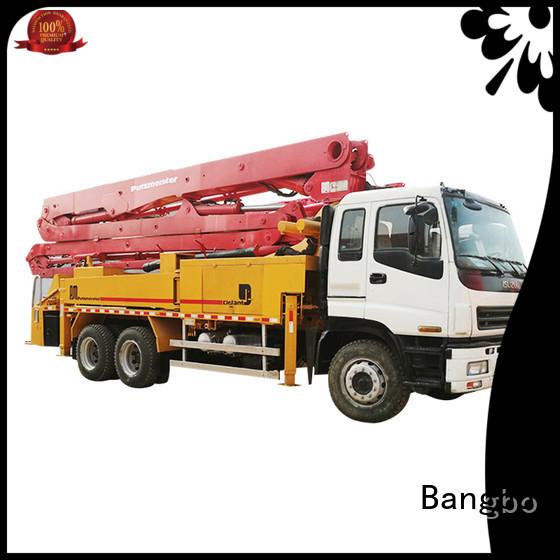 Durable concrete pumper manufacturer for construction industry
