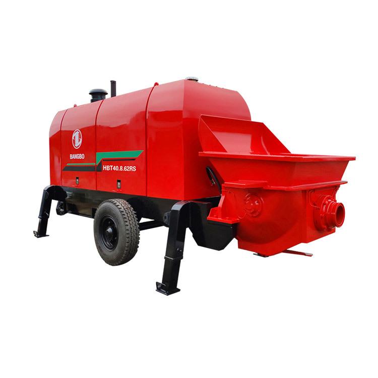 Stationary Concrete Pump HBT40.8.62RS Concrete Equipment