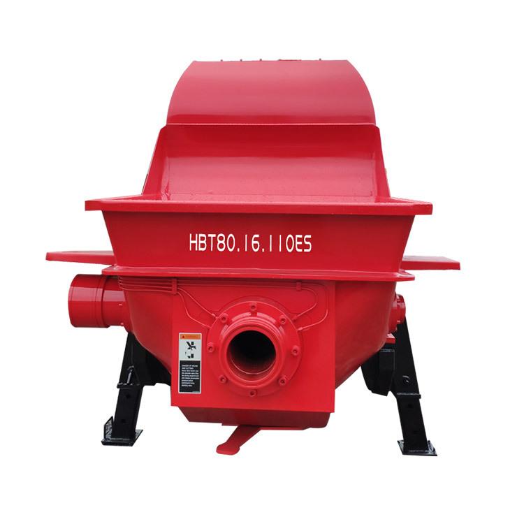 Stationary Concrete Pump HBT80.16.110ES Stationary Concrete Mixer For Sale