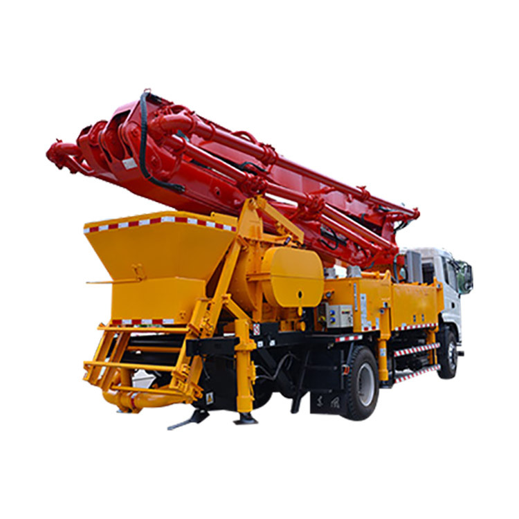 City Concrete Pump BBJ5251THB-37 Concrete Pump With Mixer