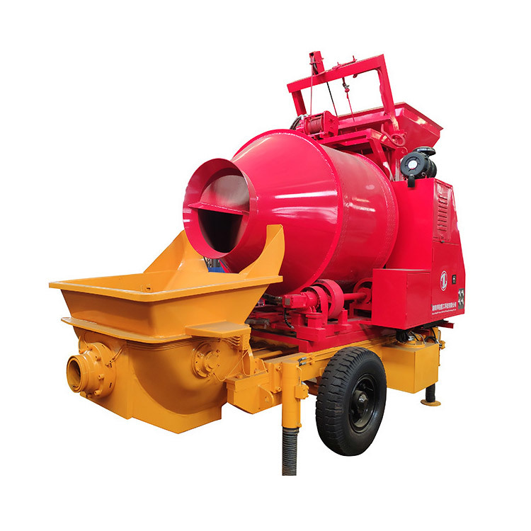 Concrete Mixer With Pump  JBT30.8.37EQ Concrete Mixer Machine With Pump