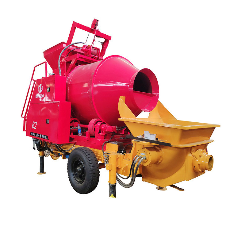Concrete Mixer With Pump  JBT40.8.62QR Concrete Mixer And Pump