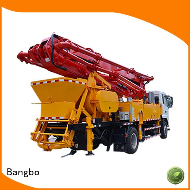 Bangbo city concrete pump supplier for construction project
