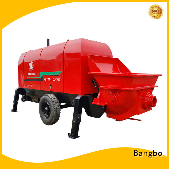 Bangbo Durable concrete stationary pump supplier for engineering construction
