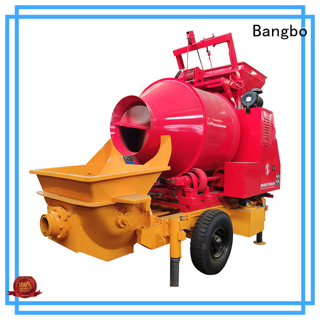 Bangbo concrete mixers manufacturer for construction industry