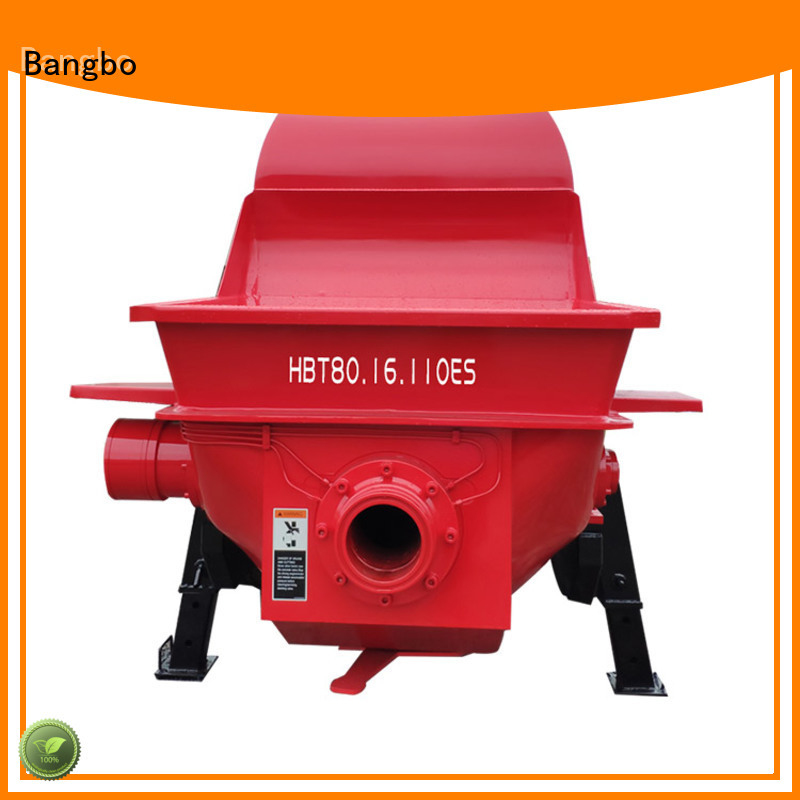 Bangbo concrete equipment factory for construction industry