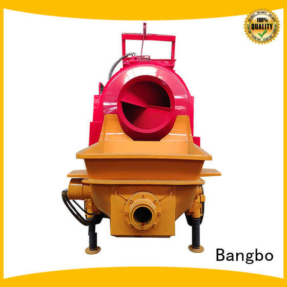 Bangbo Great concrete mixer machine manufacturer for engineering construction