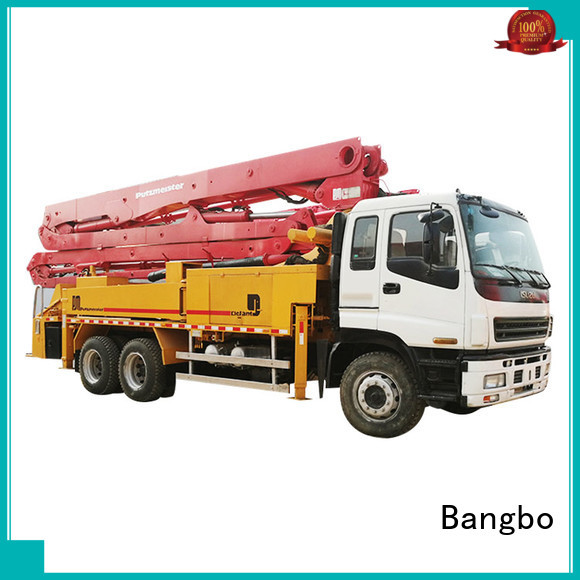 Bangbo concrete pump truck supplier for construction projects