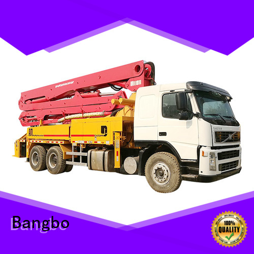 Bangbo concrete pumper supplier for engineering construction