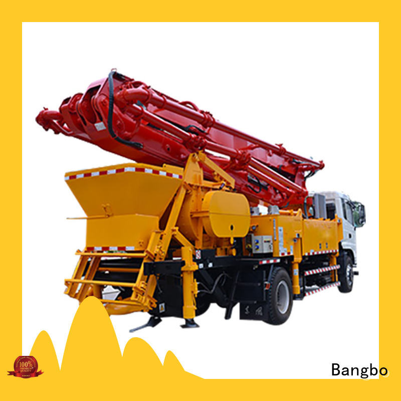 Bangbo Durable concrete line pump factory for engineering construction