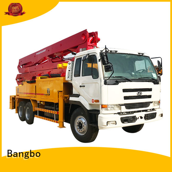 High performance used concrete equipment supplier for construction project