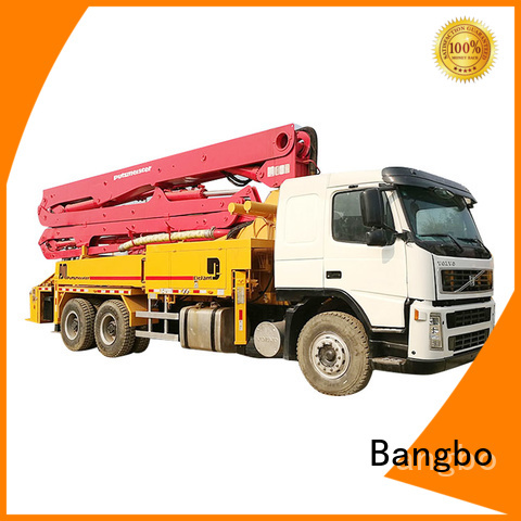 Durable concrete pump truck company for construction industry