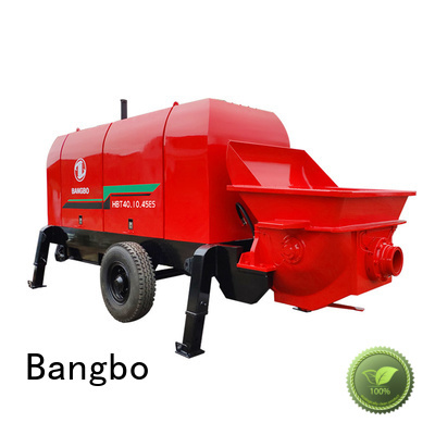 Bangbo Durable concrete stationary pump manufacturer for construction industry