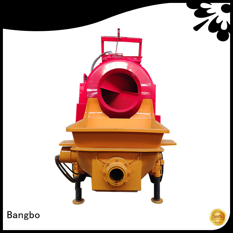 Bangbo concrete machine supplier for construction industry