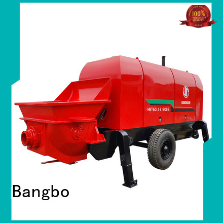 Bangbo stationary concrete mixer company for construction industry