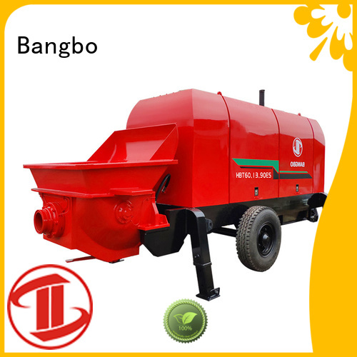 Professional concrete pump supplier supplier for construction industry