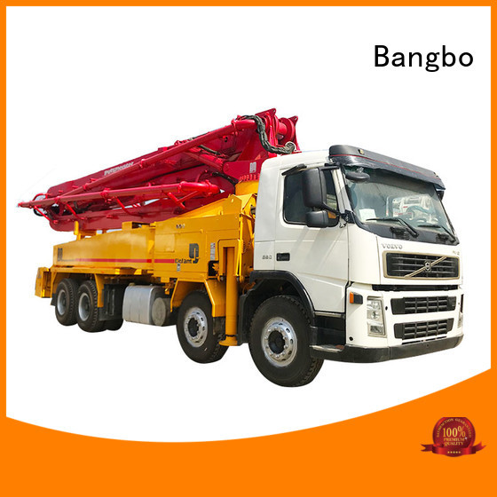 Bangbo concrete pump truck manufacturer for engineering construction