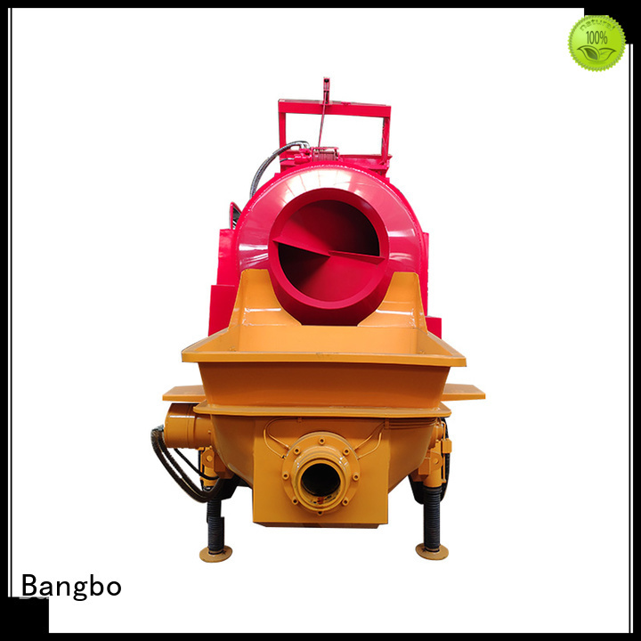 Bangbo concrete machine factory for construction project