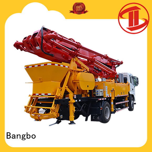 Bangbo city concrete pump manufacturer for construction project