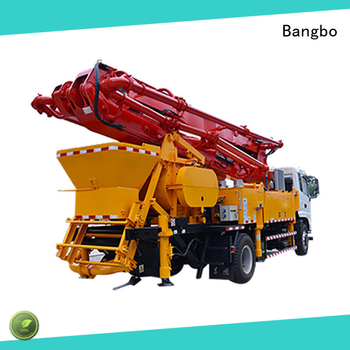 High performance city concrete pump supplier for construction industry