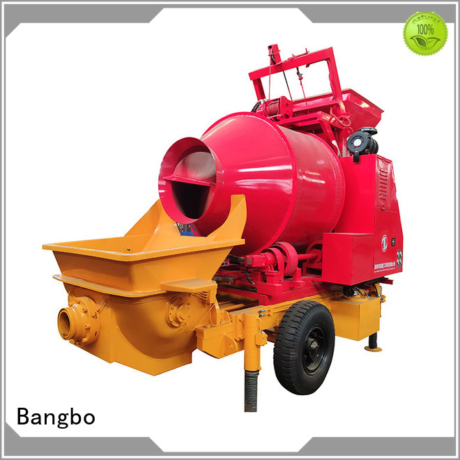 High performance concrete mixer and pumping machine factory for engineering construction