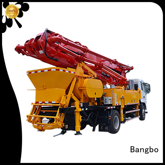 Bangbo Great concrete pump truck manufacturer for construction industry