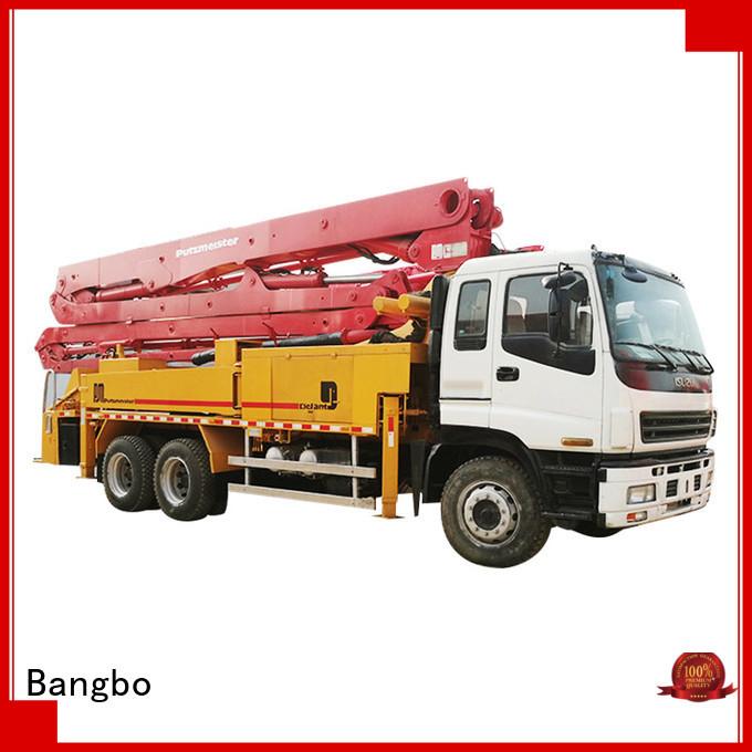 Professional concrete pump truck manufacturers manufacturer for construction projects