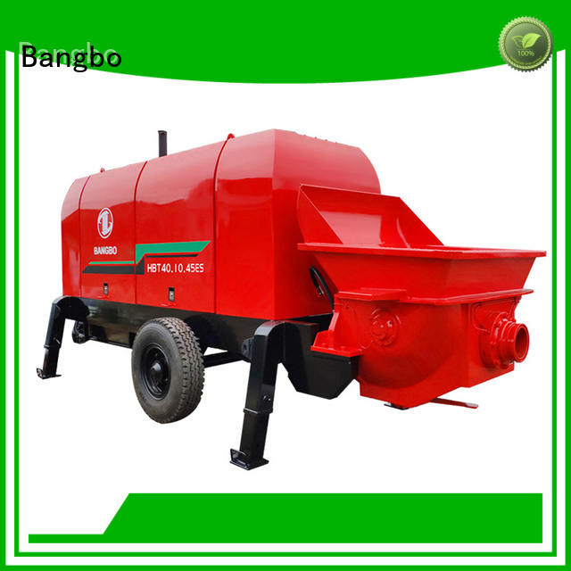 Bangbo stationary concrete pump manufacturer for engineering construction