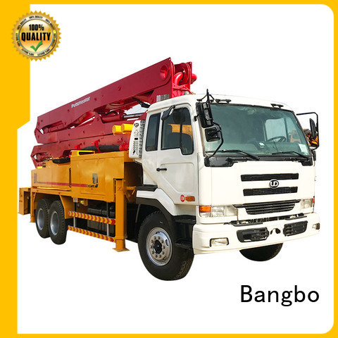 High performance used pump truck factory for construction industry