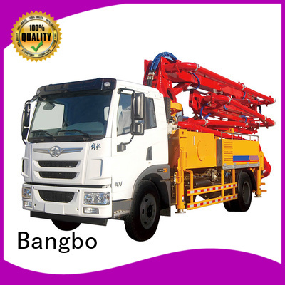 Bangbo pump truck manufacturer for construction projects