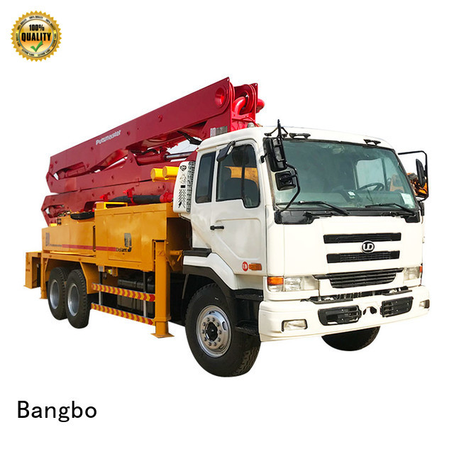 High performance used concrete pump truck supplier for engineering construction