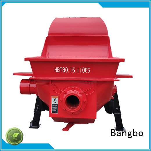 Bangbo concrete stationary pump company for engineering construction